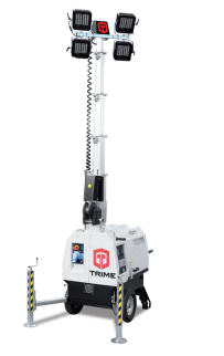 Дизельная осветительная мачта TRIME X-City 4x160W LED - 5,5M