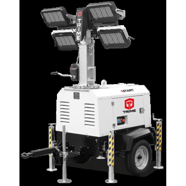 Дизельная осветительная мачта TRIME X-Start 4x320W LED - 9M