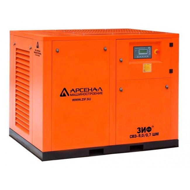 Электрический винтовой компрессор ЗИФ-СВЭ-8,0/0,7 ШМ прямой привод
