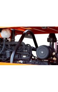 Дизельный винтовой компрессор ЗИФ-ПВ-14/0,7 на раме
