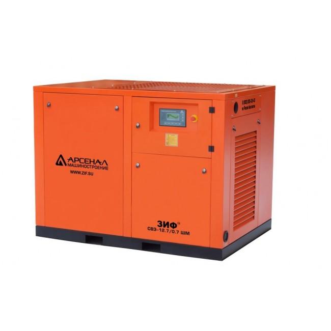 Электрический винтовой компрессор ЗИФ-СВЭ-12,7/0,7 ШМЧ прямой привод