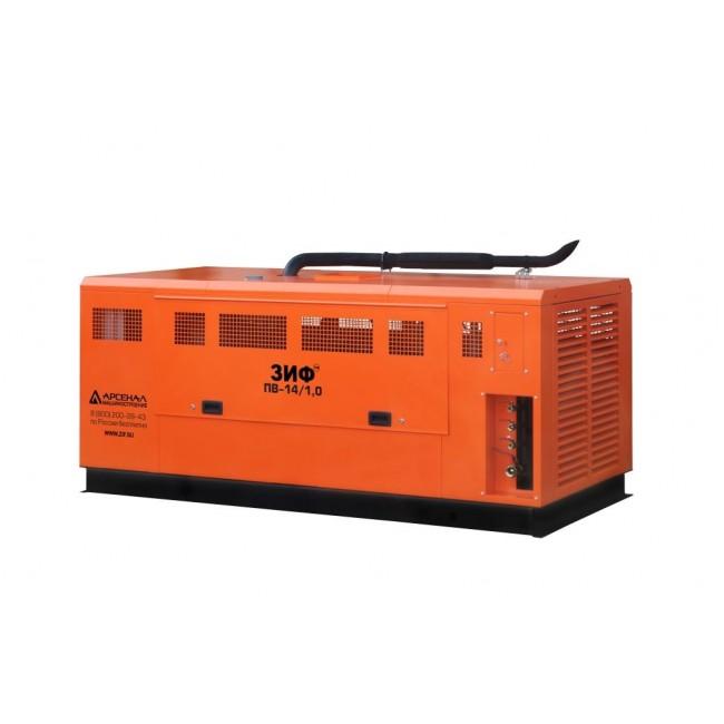 Дизельный винтовой компрессор ЗИФ-ПВ-30/1,0 на раме