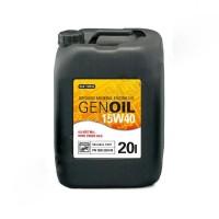 GENOIL 15W40 масло минеральное для двигателя